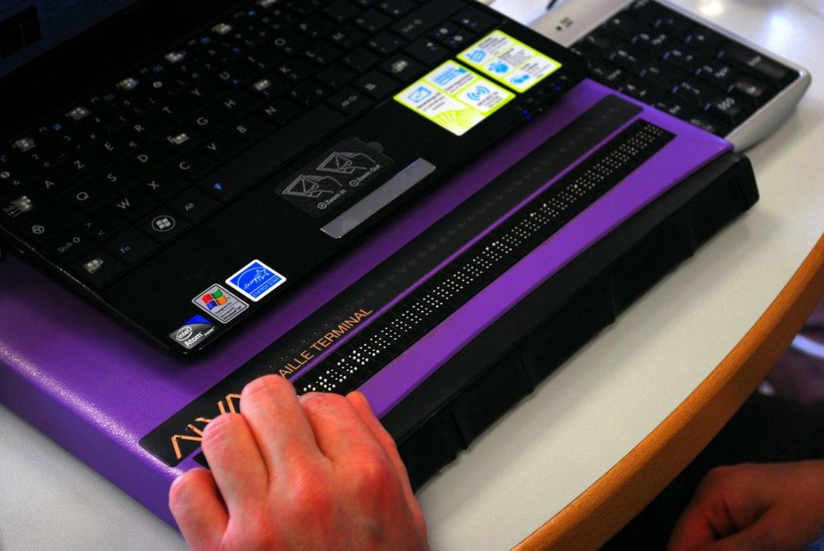 Braille Reader Keyboard