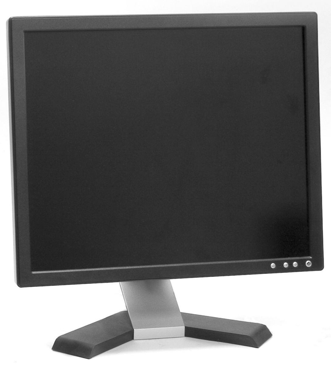 Modern day computer monitors are often  LCD, like this flat panel one.