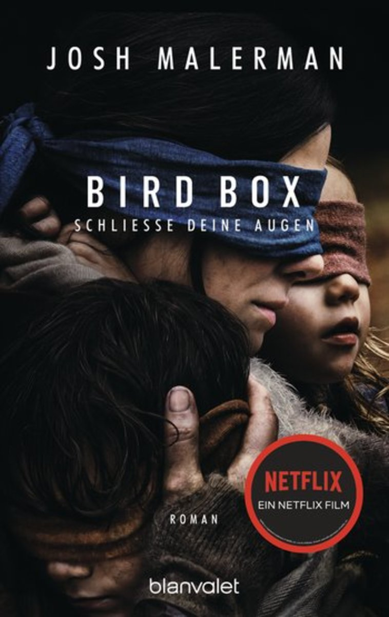 """""""Bird Box"""" with a new cover featuring Sandra Bullock."""
