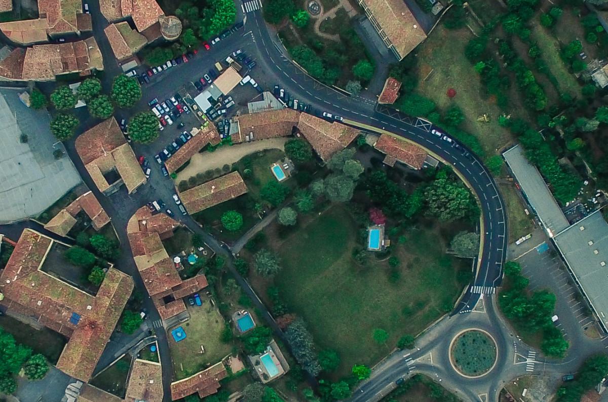 This is the original aerial image.