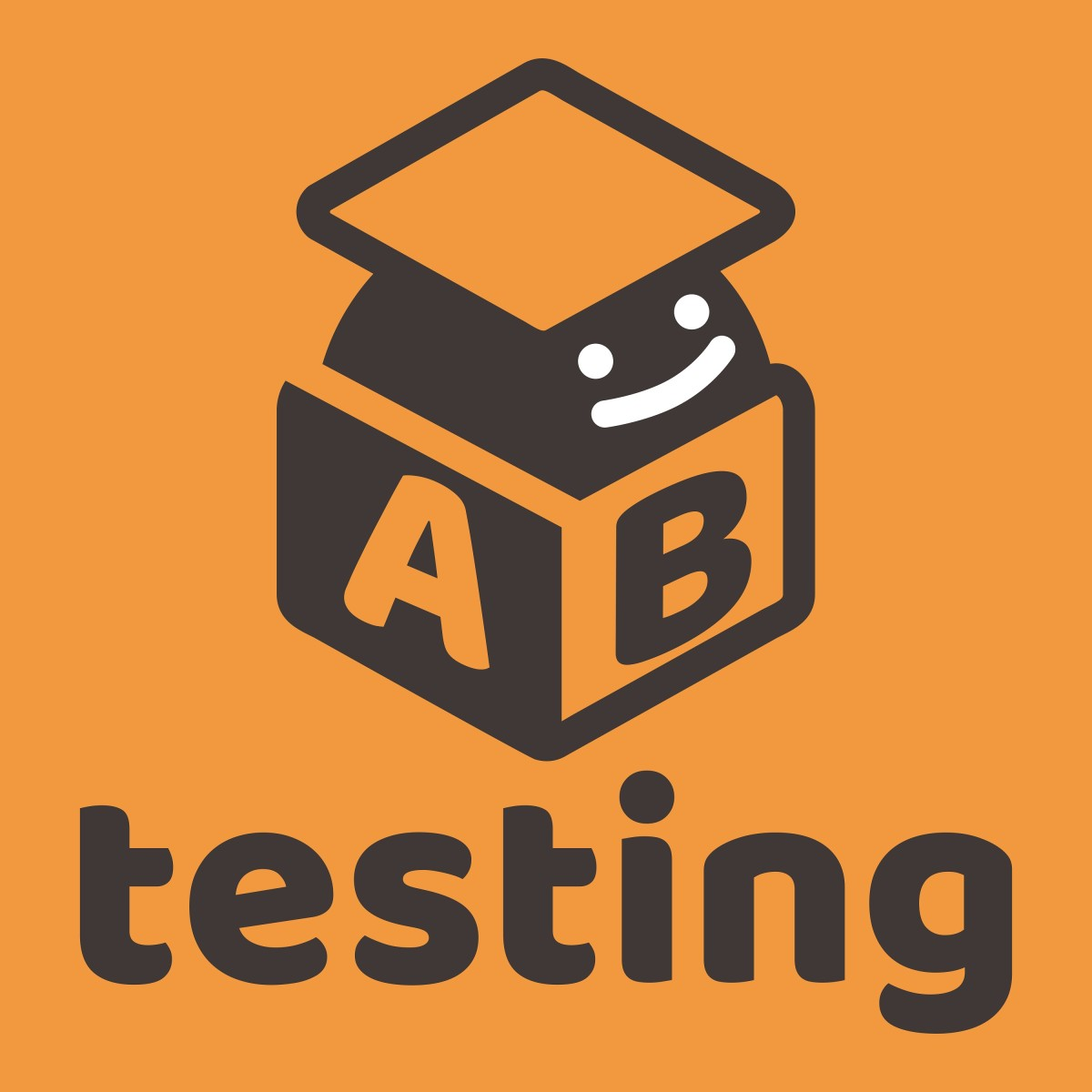The logo for the long-running AB Testing podcast