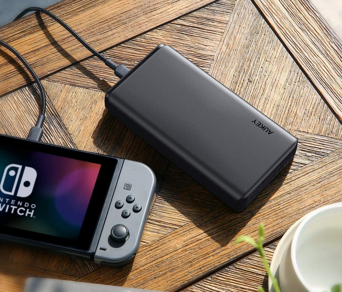 Aukey 26800mAh Universal Power Bank With Nintendo Switch