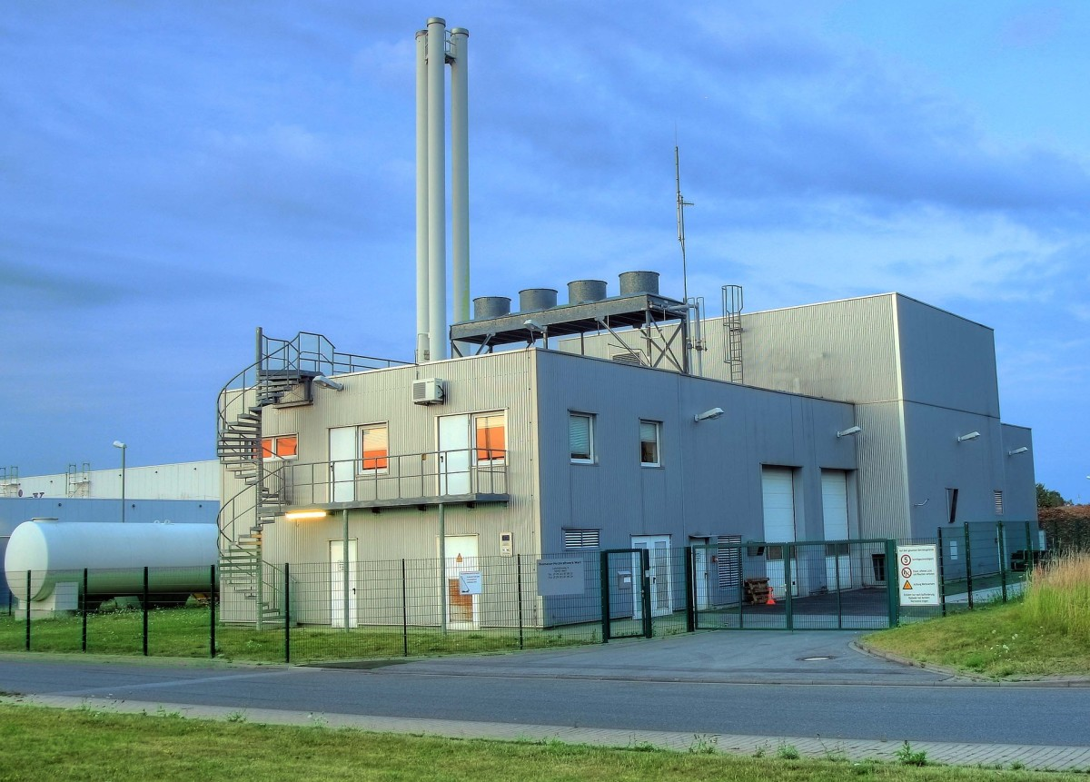 Biomass Heating Power-plant