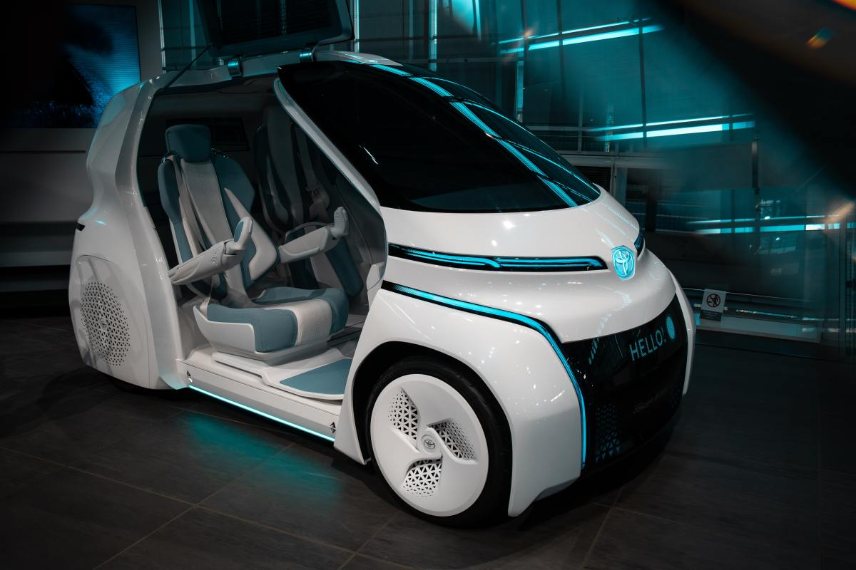 Fuel Cell Powered Vehicle