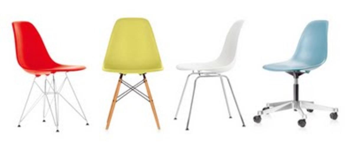 Eames Bucket Chair Assortment