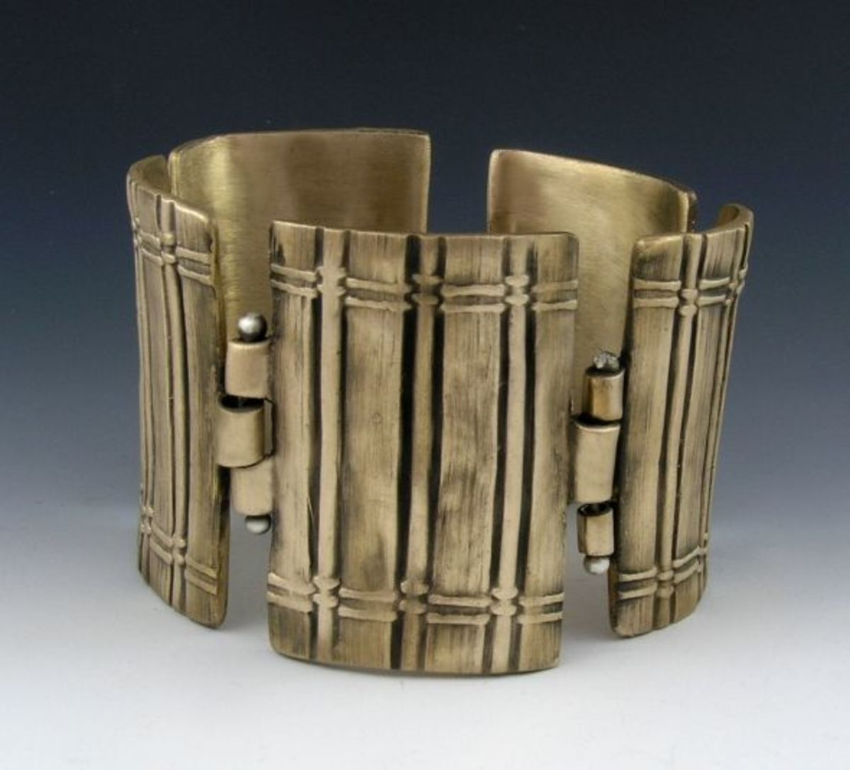 Hinged Fence Bracelet
