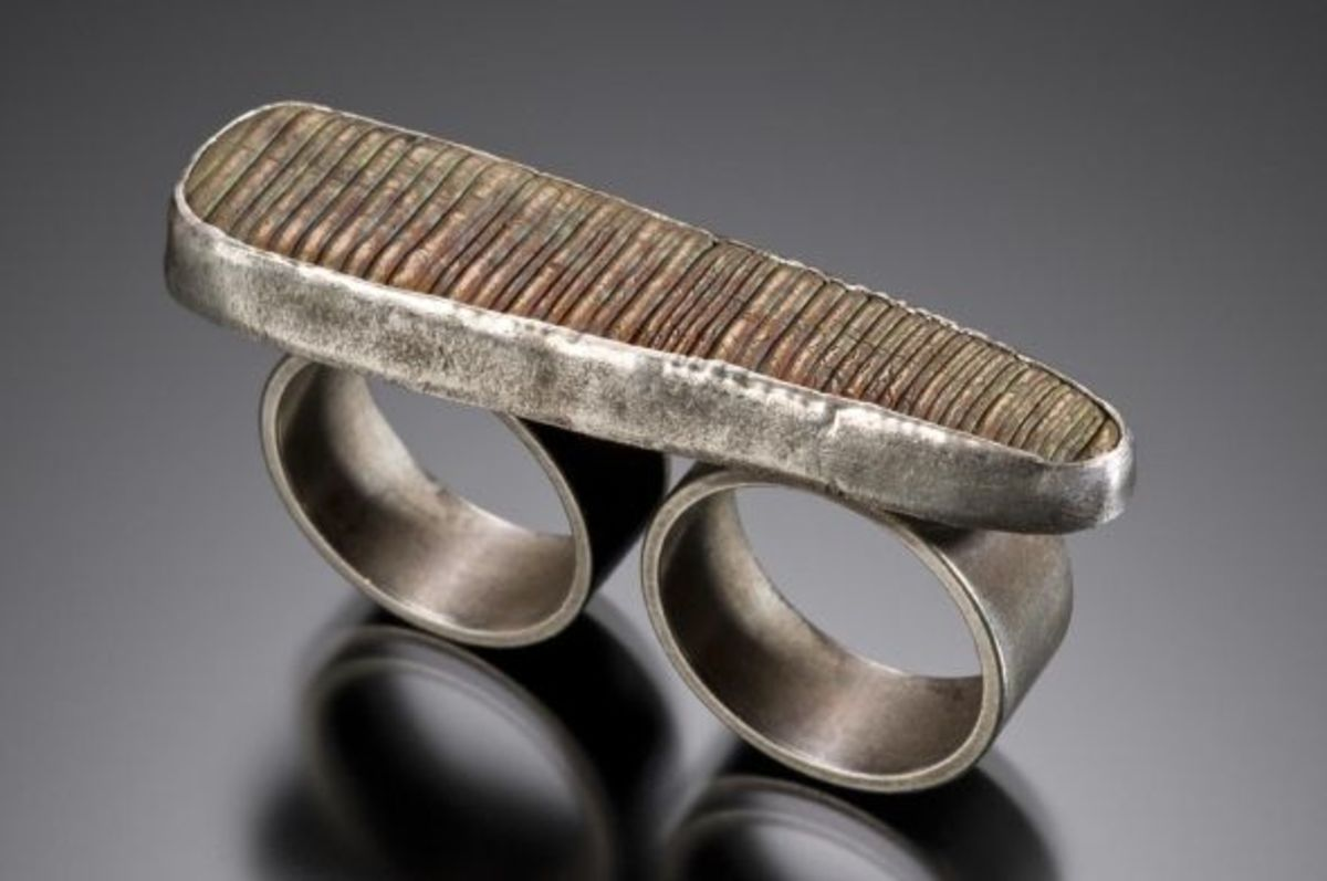 """Bronze Knuckles"" ring, photographed by Robert Diamante."