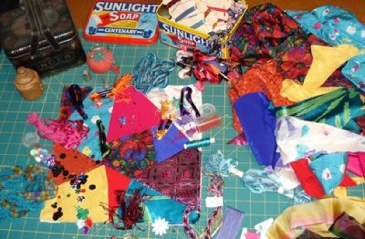 Yummy 'special' stuff for embellishing your crazy patch block