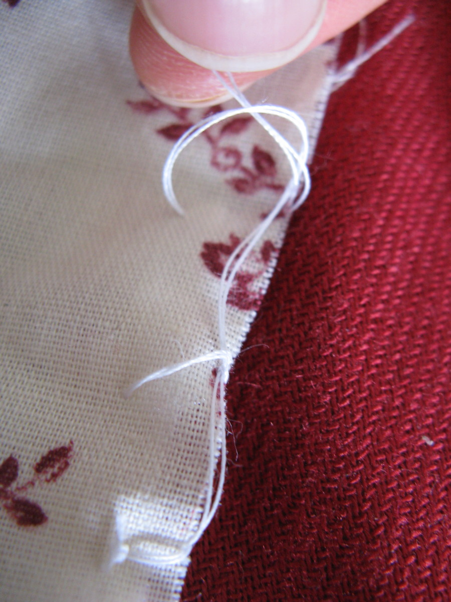 how to finish a blanket stitch