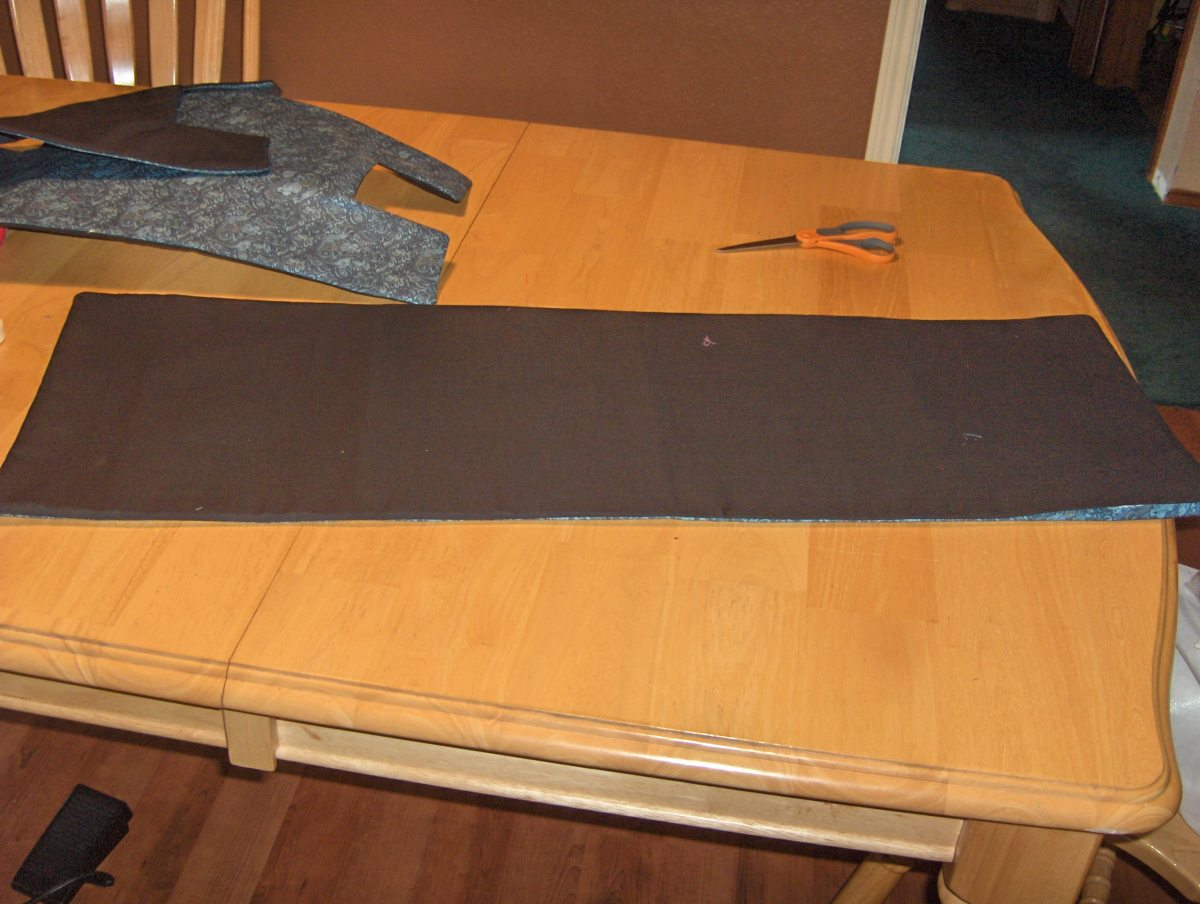 Laying the Fabric