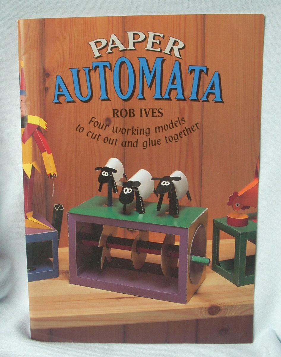 Book by Rob Ives Paper Automata