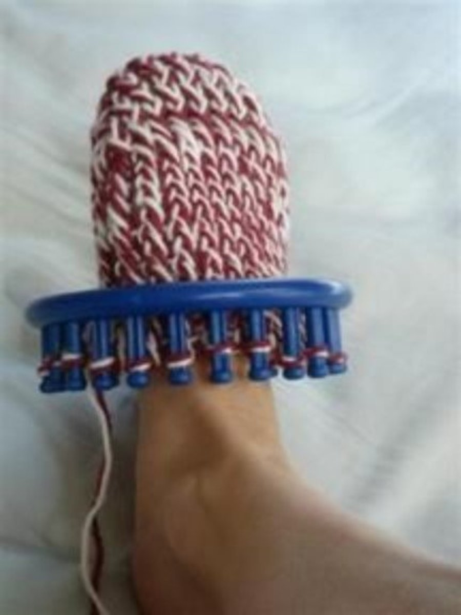 Free Knifty Knitter Sock Patterns Feltmagnet