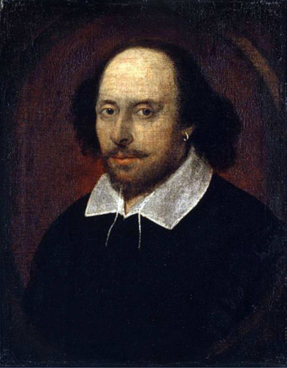 This is what we often think of when we think of William Shakespeare, but is this man really the author of all those plays and sonnets?