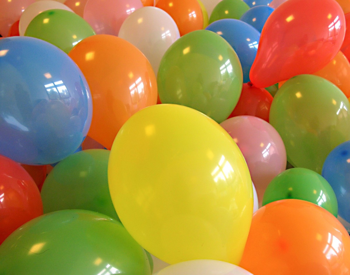 Balloons are a great item to use in celebrations, but they need to be used safely.