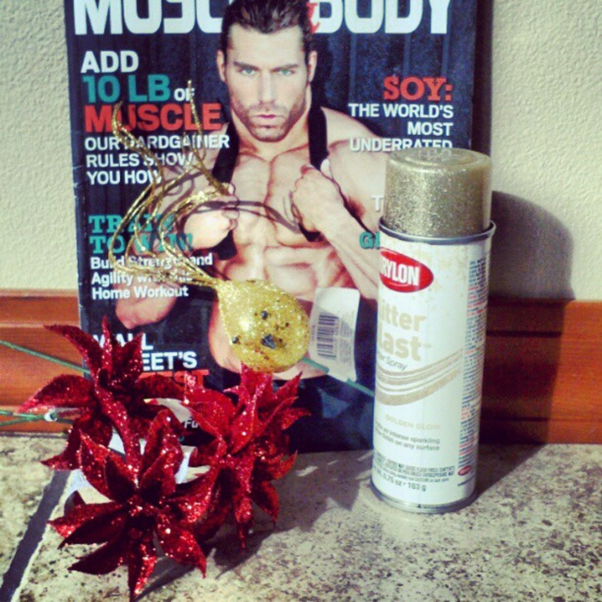 Supplies for a magazine tree