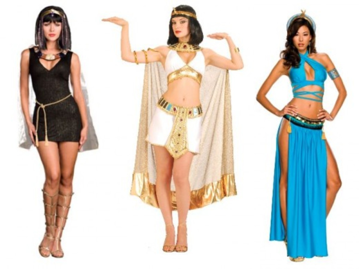 Women Halloween Egyptian Costumes