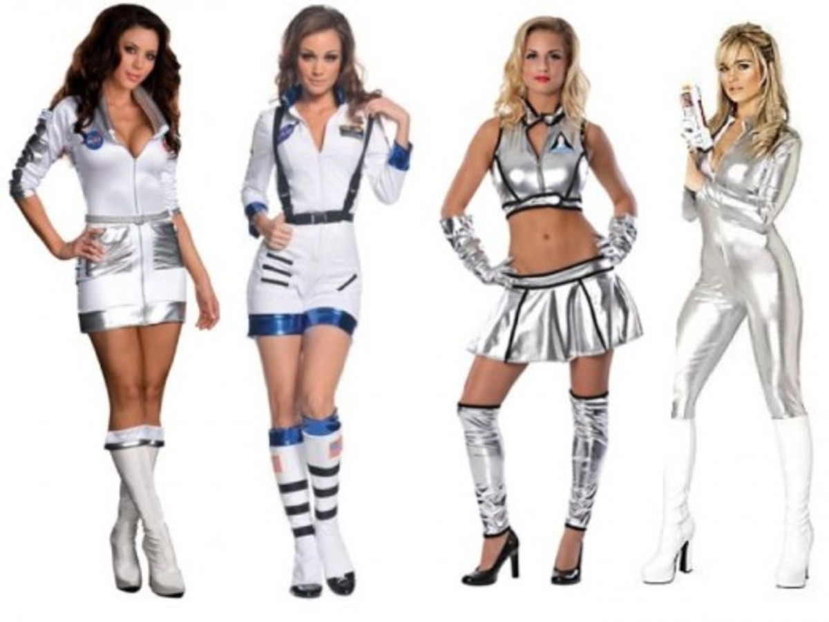 Women Halloween Astronaut Costumes