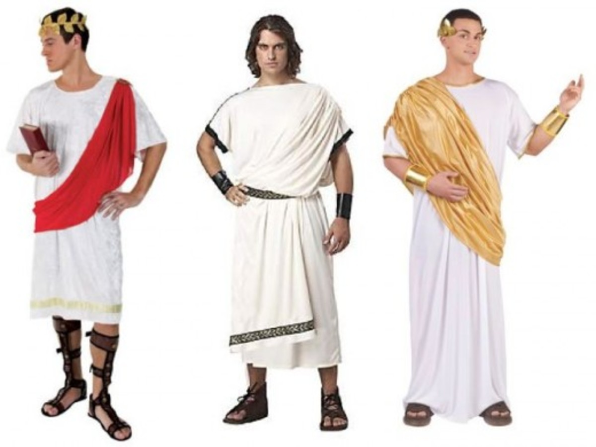 Men Halloween Greek Costumes