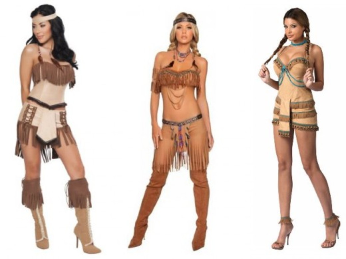 Women Halloween Indian Costumes