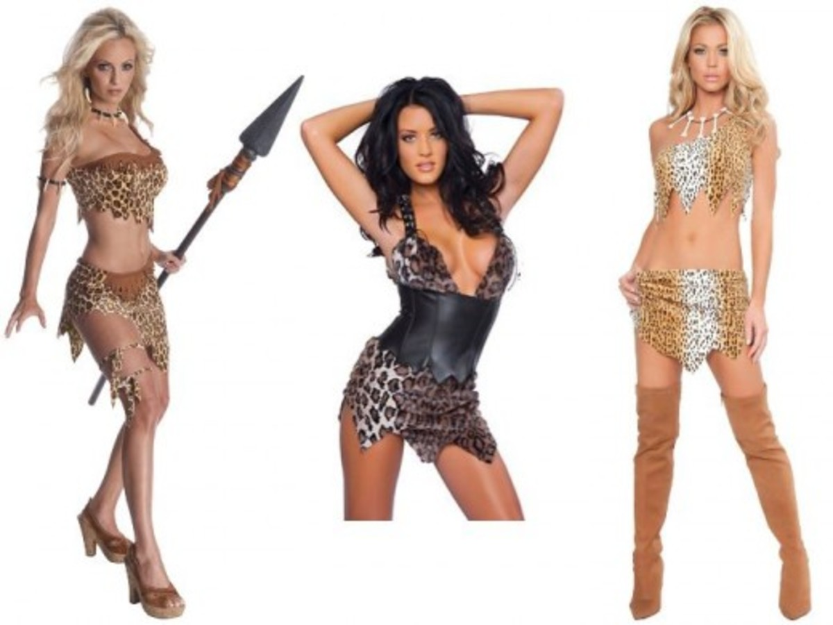 Halloween Cave Woman Costumes
