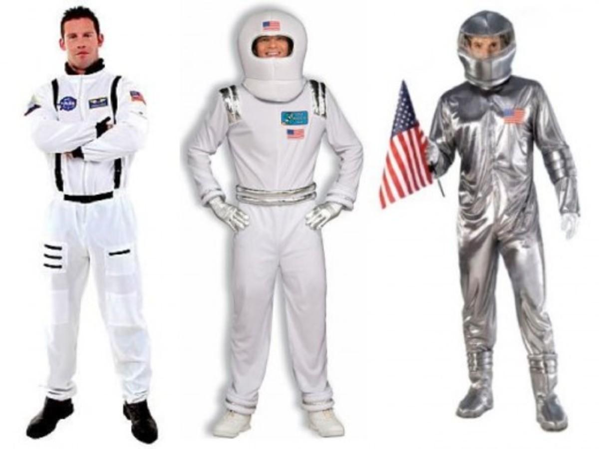 Men Halloween Astronaut Costumes