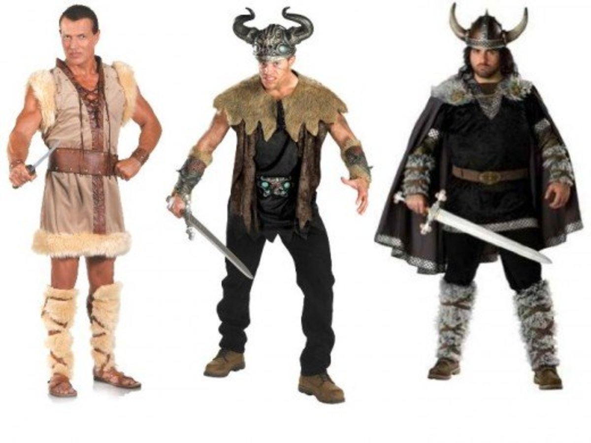 Men Halloween Viking Costumes