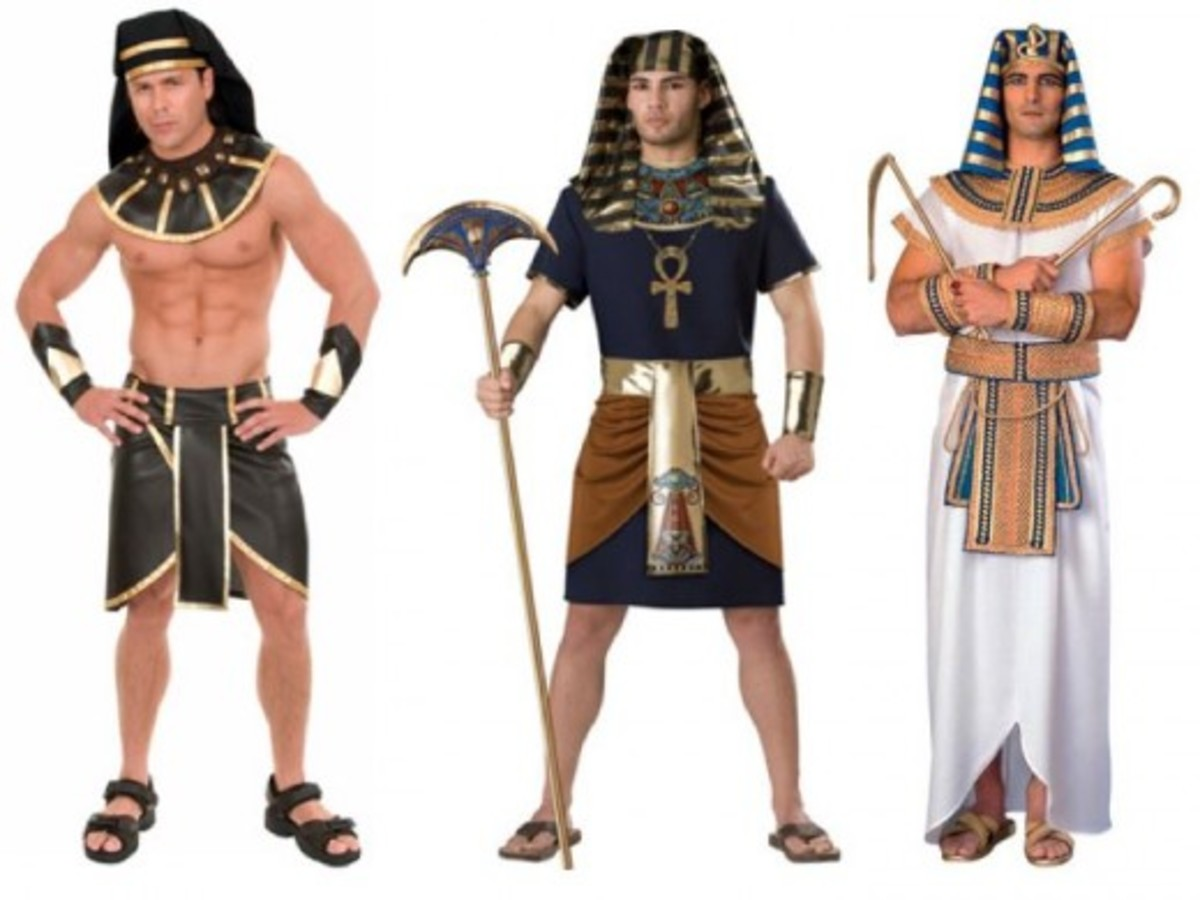 Men Halloween Egyptian Costumes