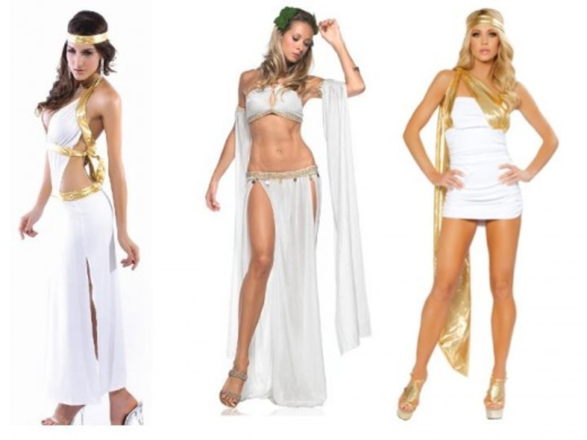 Women Halloween Greek Costumes