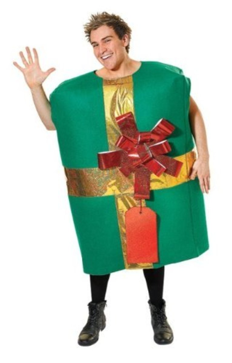 Christmas Present Or Gift Box Costumes Holidappy