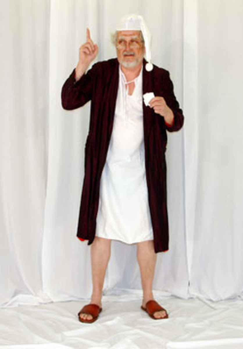 Scrooge Nightgown Costume
