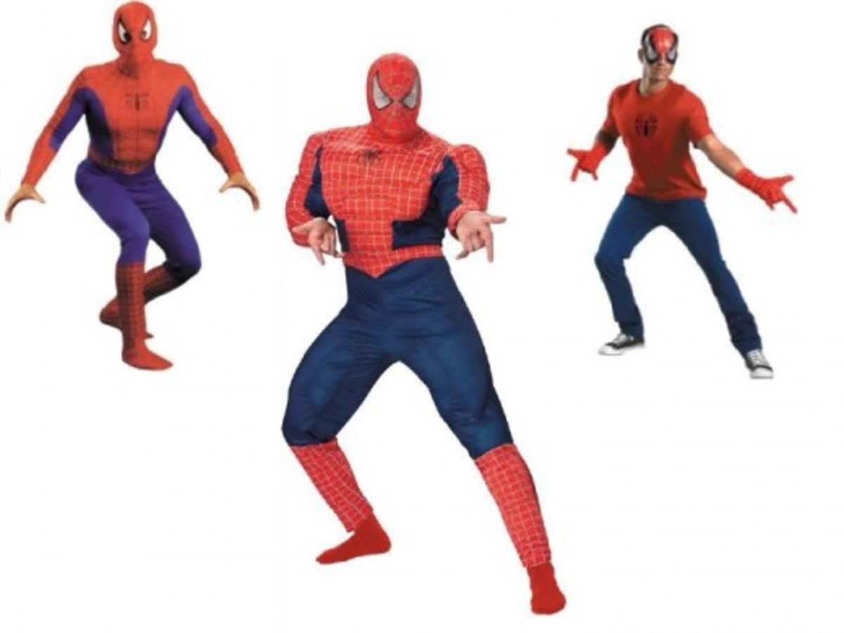 Adult Men Spider-Man Costumes