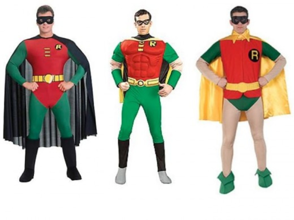 Adult Men Robin Halloween Costumes
