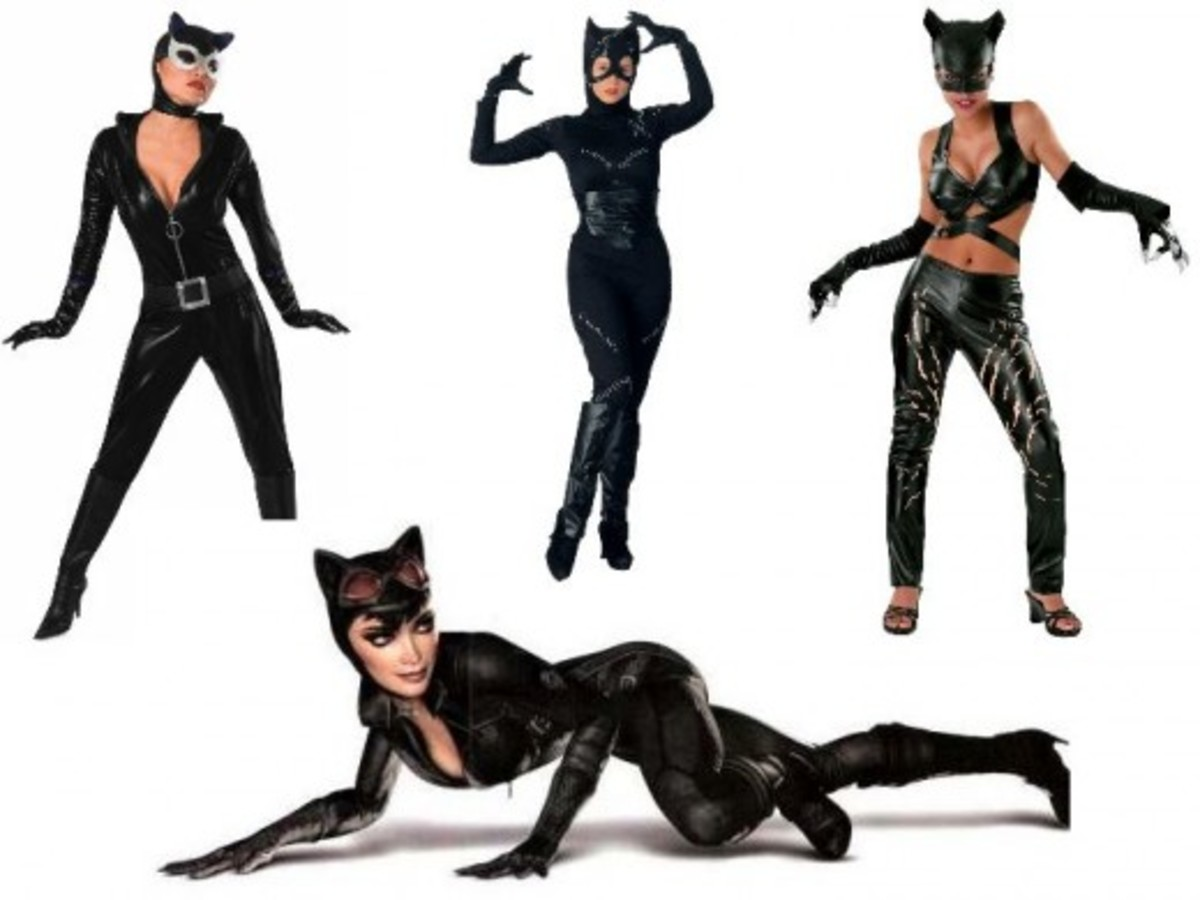 Catwoman Halloween Costumes