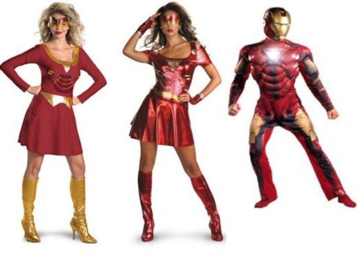 Iron Man / Iron Woman Halloween Costumes