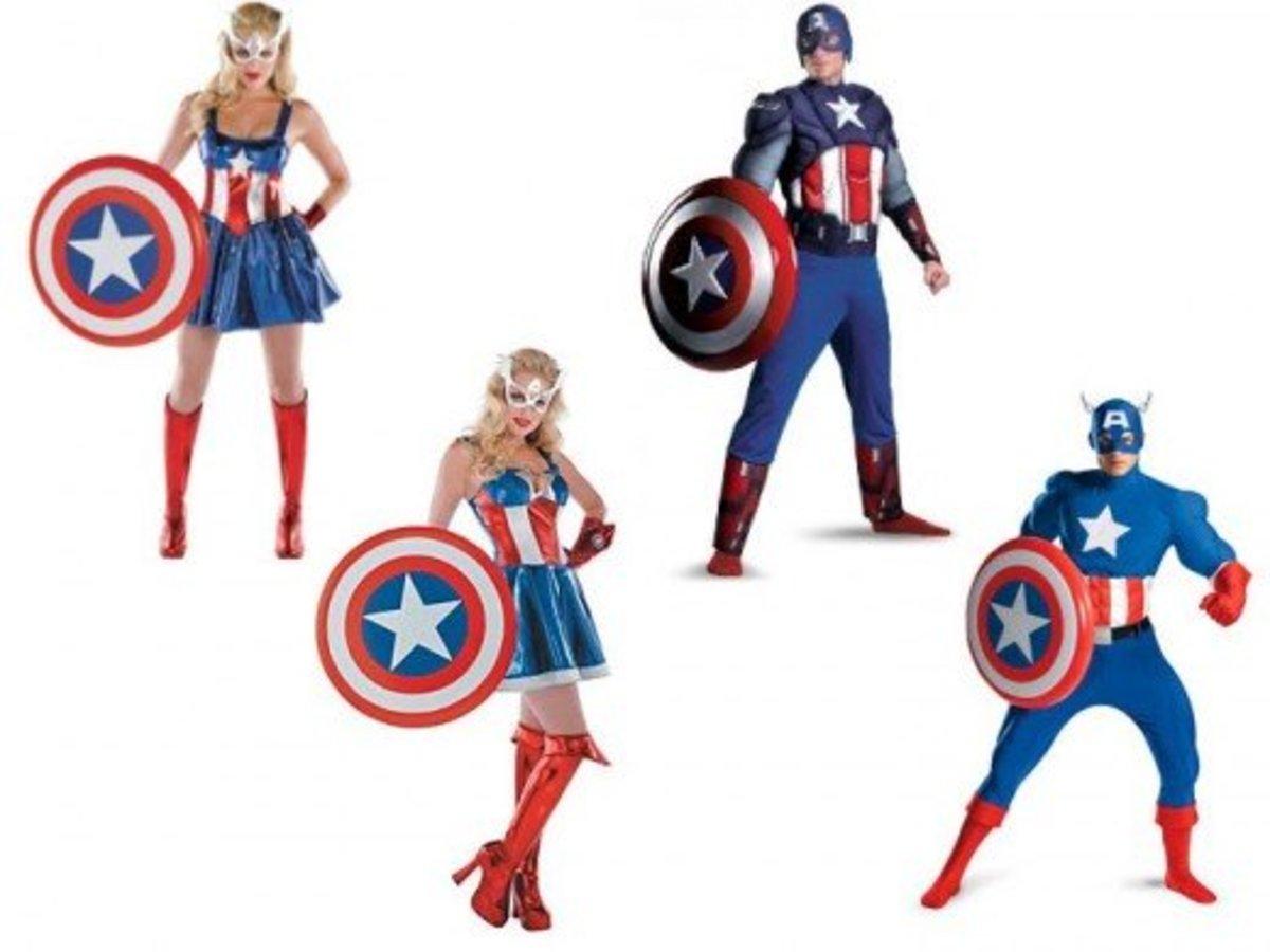 Captain America Halloween Costumes
