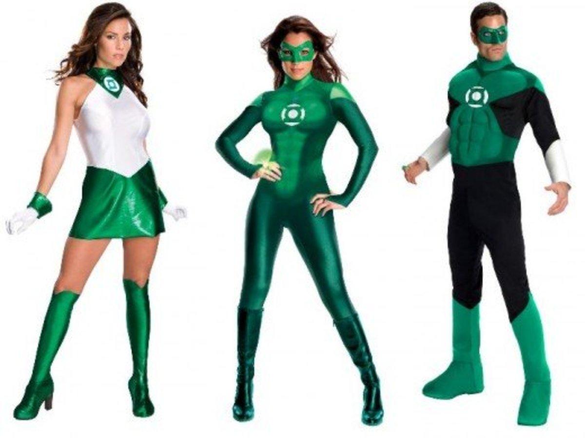 Green Lantern Halloween Costumes