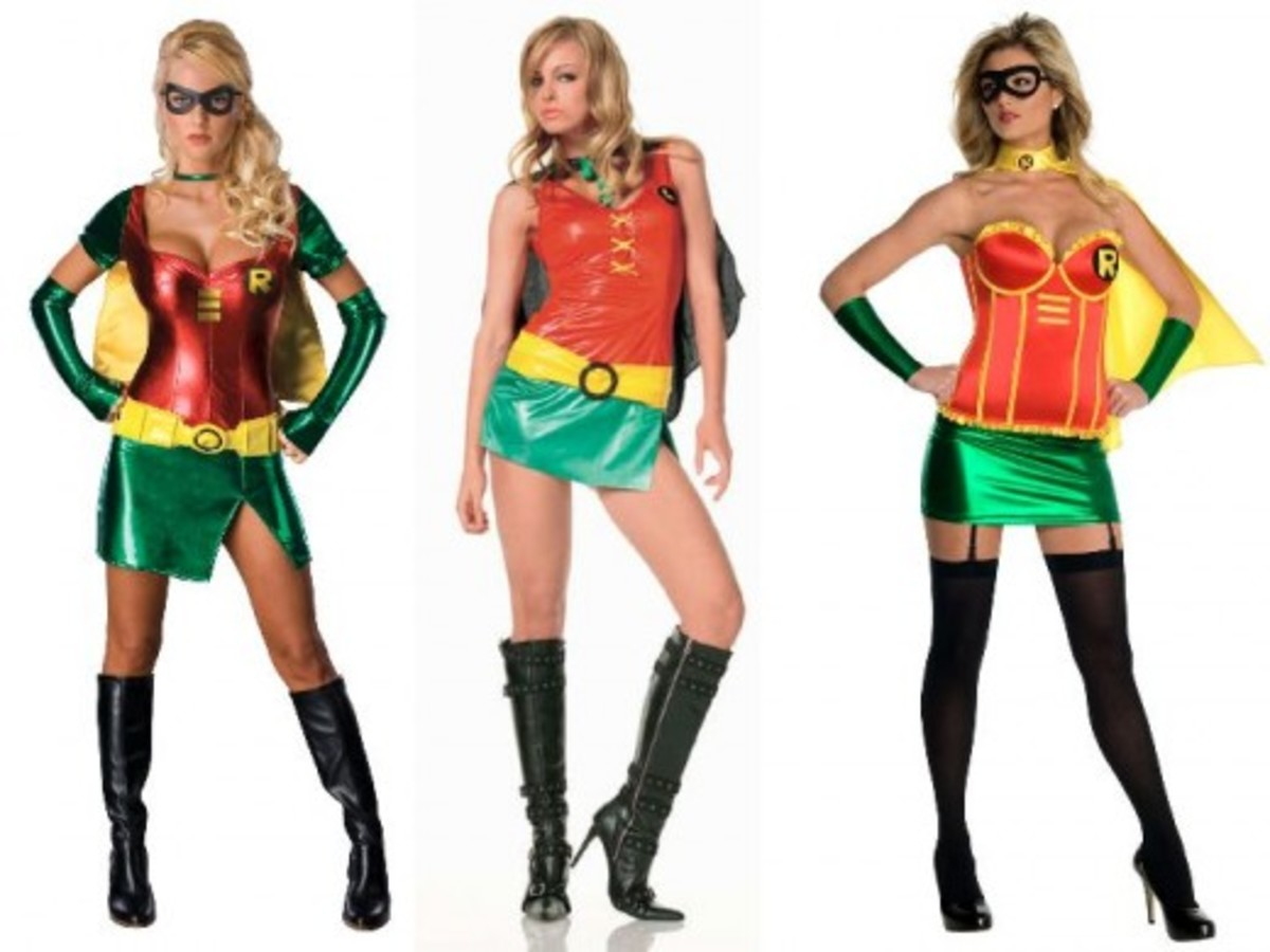 Adult Women Robin Halloween Costumes