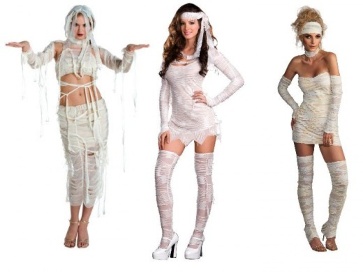 Women Mummy Costumes