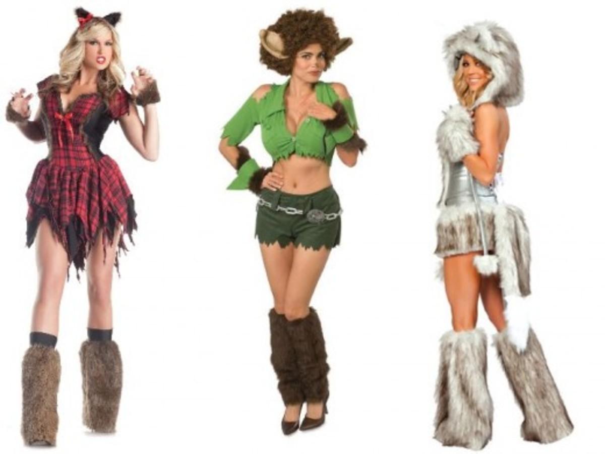 Women Werewolf Costumes