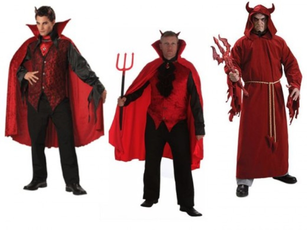 Devil Halloween Costume Ideas For Men Men Devil Costumes