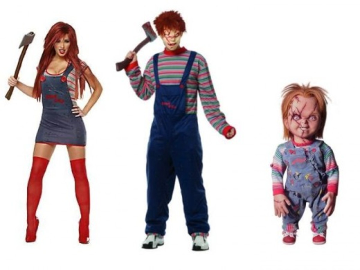 Adult Chucky Halloween Costumes