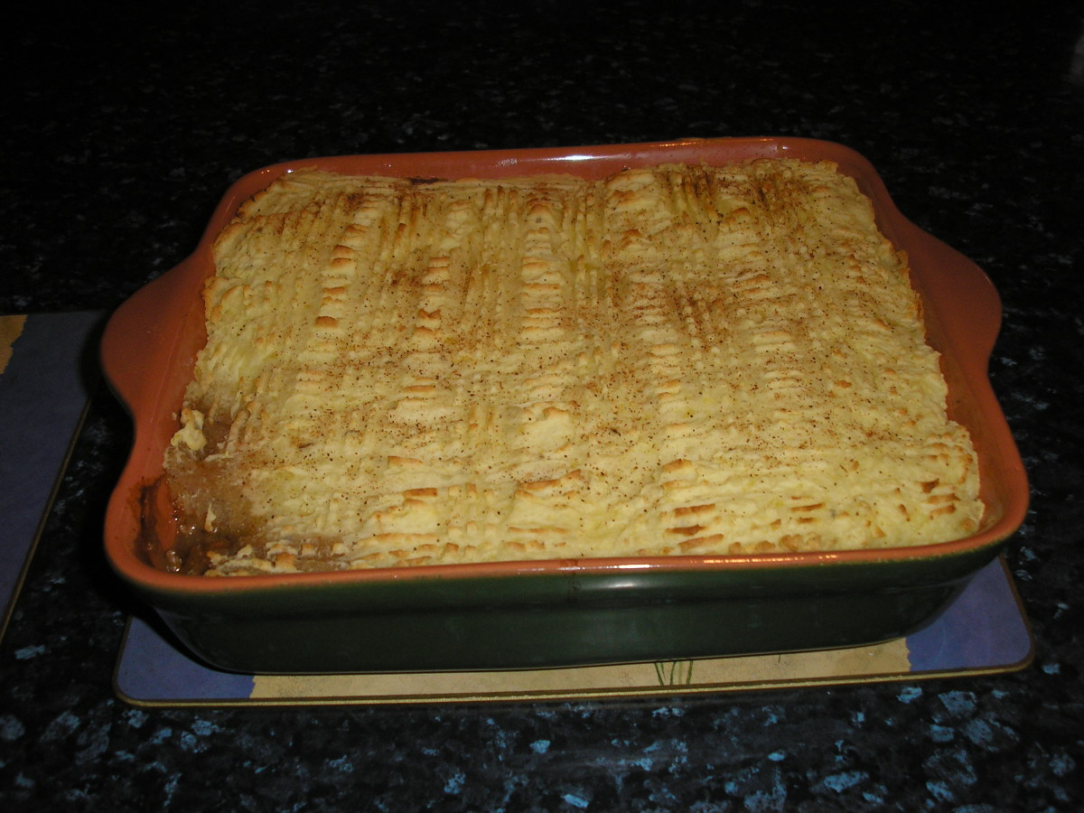 Give the gift of homemade Shepherd's Pie, a great dish to be enjoyed all year round.