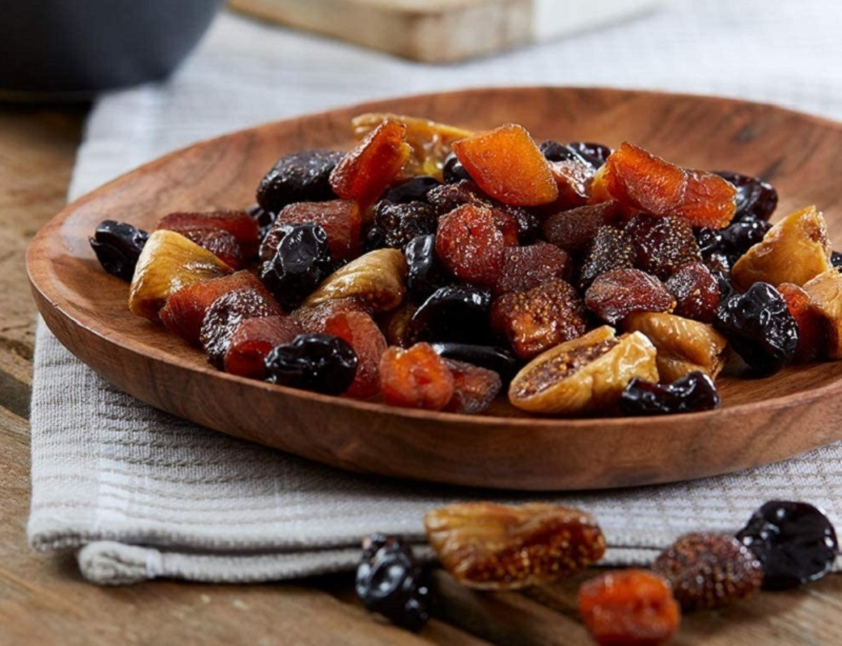 Dried fruit mix brings the taste of summer to your Christmas table.