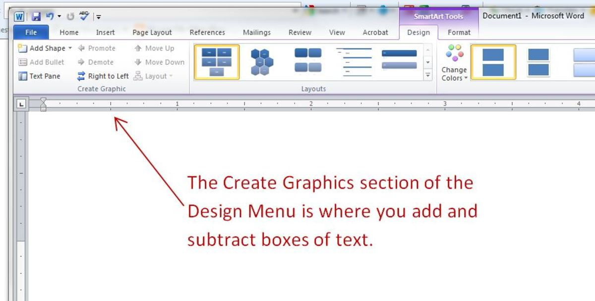 Add, subtract and move text boxes with this menu.