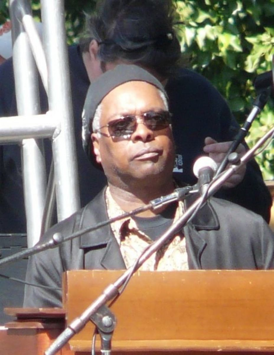 This is the cropped photo of Booker T. Jones.