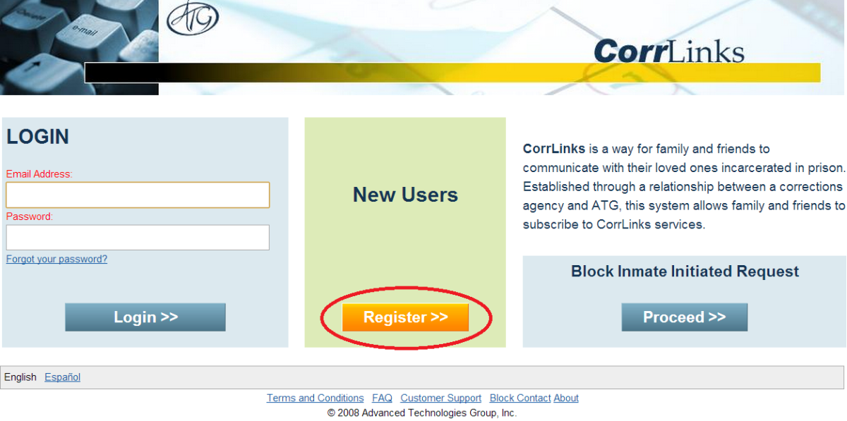 How to use corrlinks to e mail federal prisoners for free step 3 registration ccuart Image collections