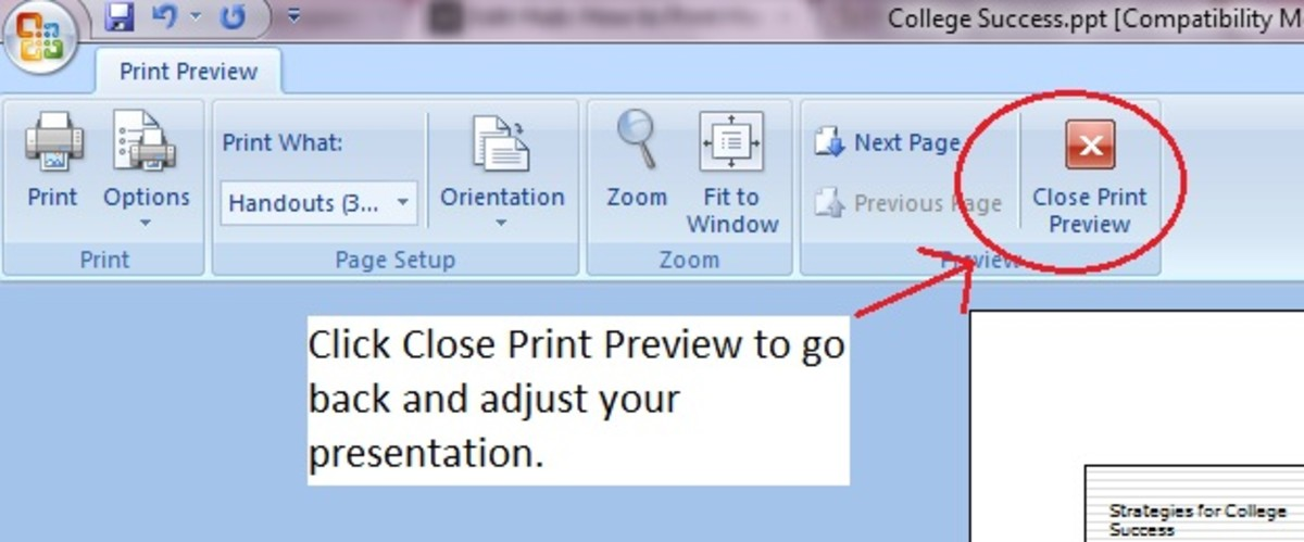 how to add notes in powerpoint 2007