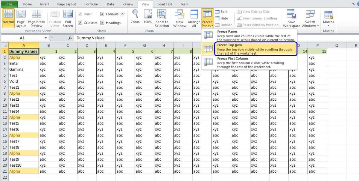 how to add row in excel sheet