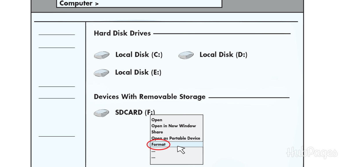 Formatting your MicroSD card will erase the files on it, but it will remove the bad shortcut files.