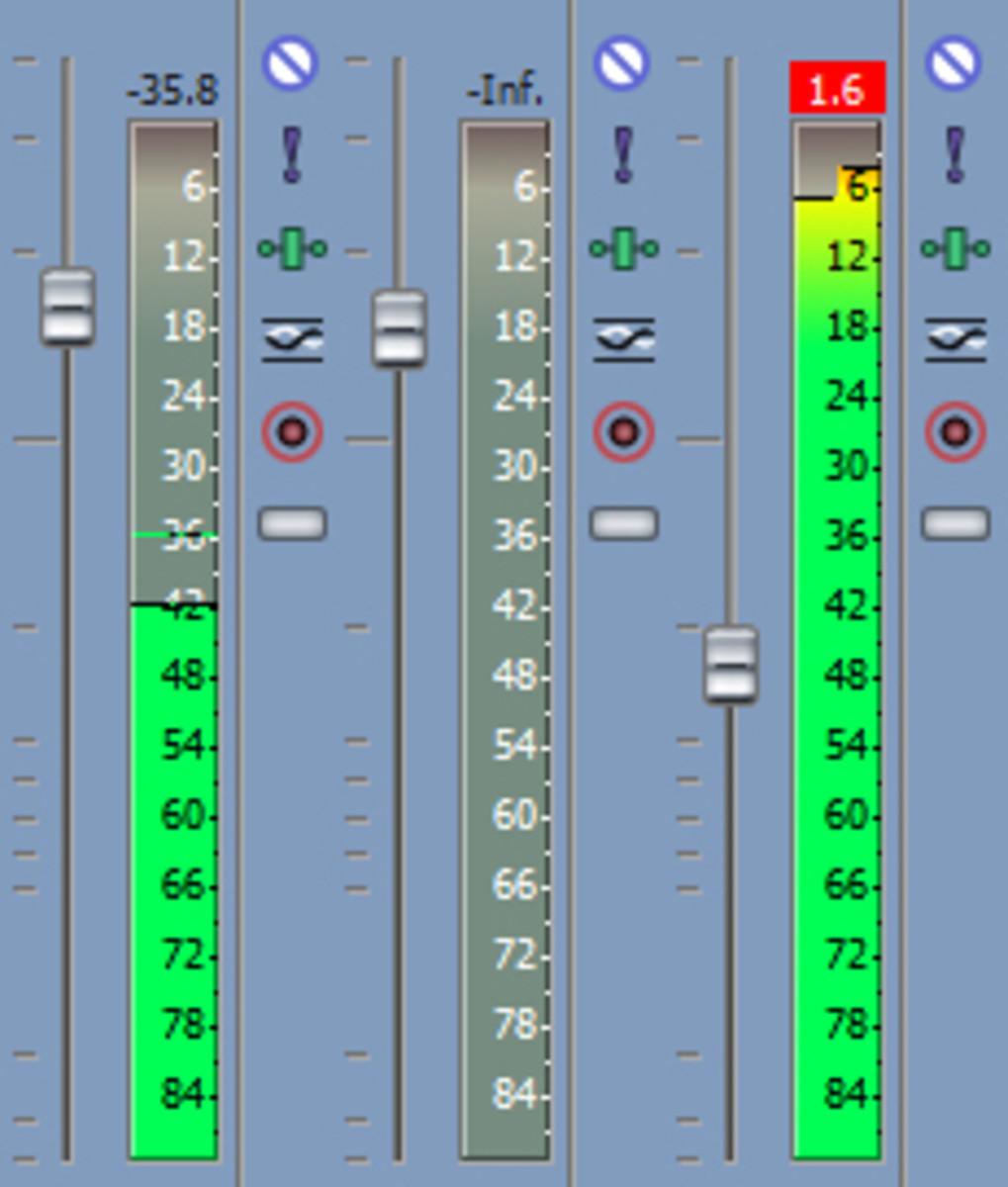 Peaking Audio Levels